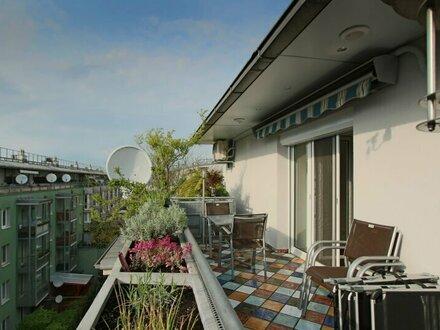 Luxuriöse DG Wohnung mit Terrasse in herrlicher Ruhelage!