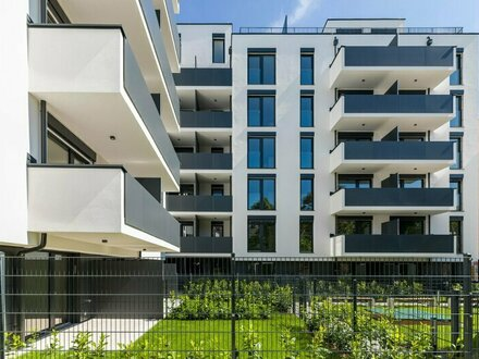 Neubau 3 Zimmer mit Balkon und eingerichteter Küche (67) - PROVISIONSFREI direkt vom Bauträger
