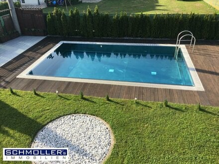 Schönes Einfamilienhaus mit viel Platz und Nirosta-Pool