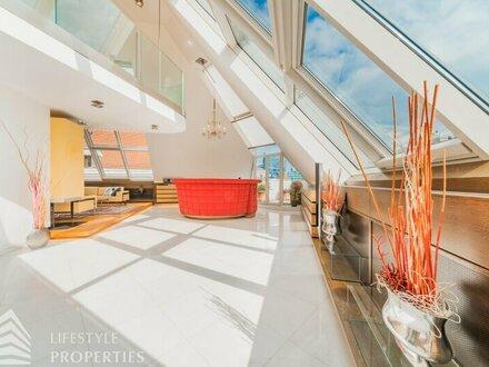 4-Zimmer Luxus-Penthouse Nähe Stephansplatz