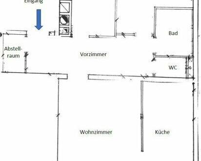 Großzügige, ruhige 3-Zimmerwohnung (U-Bahnnähe)