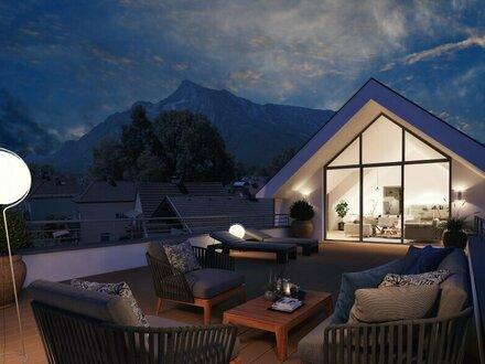 Exklusive und ruhig gelegene Dachterrassenwohnung im Süden von Salzburg