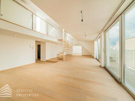 Erstbezug 4-Zimmer Penthouse mit Terrasse Nähe Johann-Strauss-Park