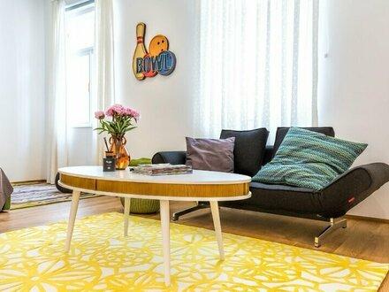 Toplage Nähe Wien Mitte - voll möbliertes Apartment mit Loft-Charakter