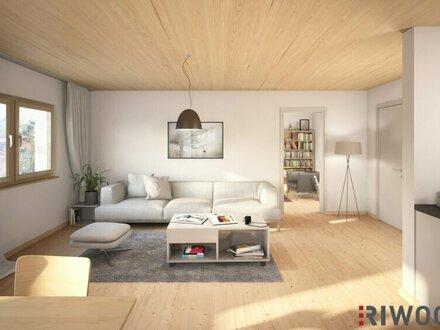 4 Zimmer Erstbezug mit großem Balkon und Gartenblick, durchdachter Grundriss, zeitlose Architektur, hohe Lebensqualität (Top…