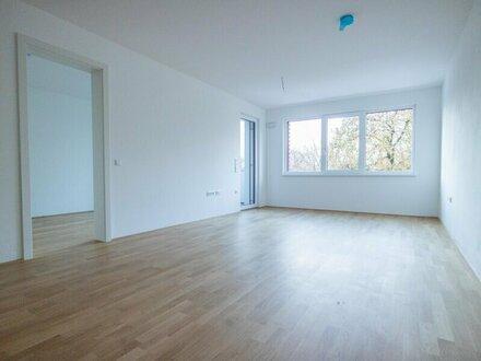 Erstbezug: Hochwertige 2-Zimmer-Wohnung mit Loggia und Tiefgarage im Stadtteil Gnigl