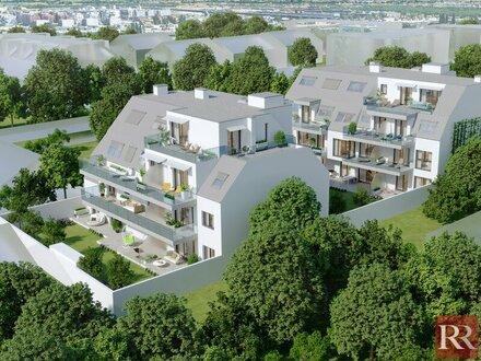 Aspern Topausgestattete Eigentumswohnungen in Grünruhelage Provisionsfrei
