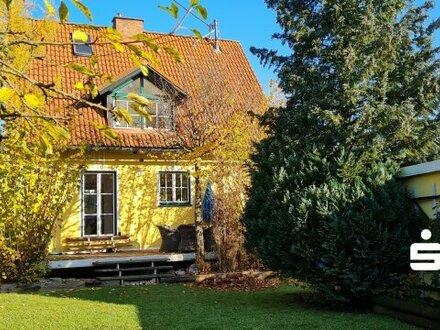Einfamilienhaus mit Gartenparadies und Naturteich in 4490 St. Florian/Rohrbach