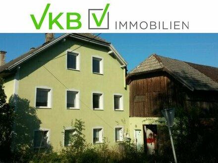 NEUER PREIS ! Kleiner Dreiseithof mit Renovierungsbedarf! Mehrfamilienhaus mit Nebengebäuden und großem Grundstück