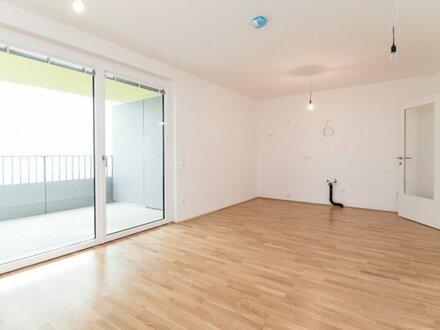 Erstbezug! Moderne 2-Zimmer Gartenwohnung mit Balkon im 5. Bezirk!