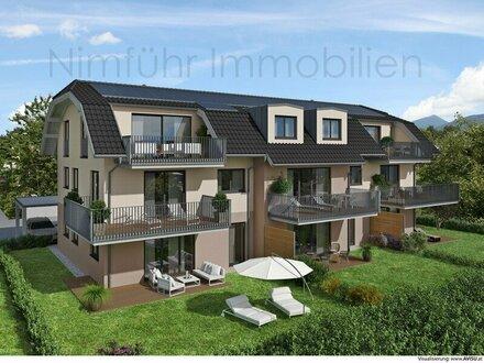 Lichtdurchflutete 3-Zimmer-Neubau-Garten-Wohnung - Grödig
