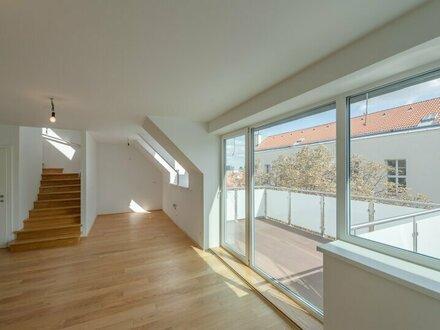 ++NEU++ Hochwertige 4-Zimmer DG-Maisonette, sehr gute Raumaufteilung, mit Balkon und 2 Terrassen!