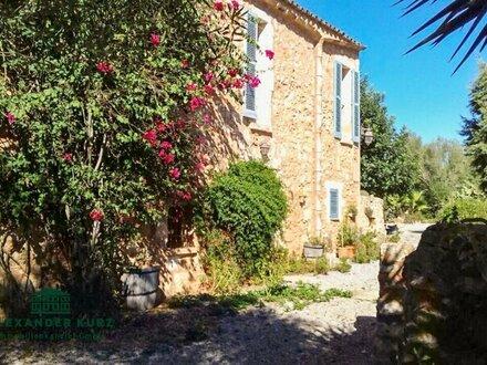 Traumhafte historische Finca in Alleinlage auf Mallorca