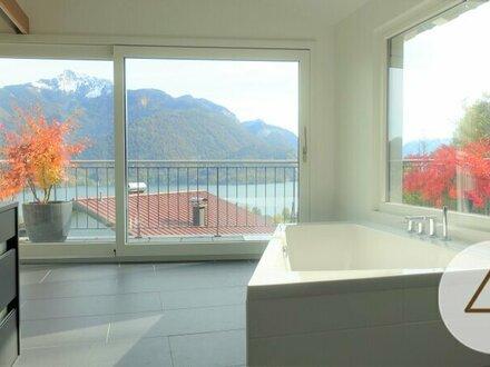 Villa mit Seeblick am Wolfgangsee
