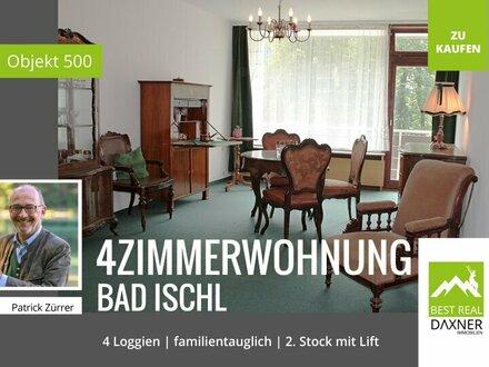 Großzügige 4-Zi.Wohnung mit 4 Loggien!