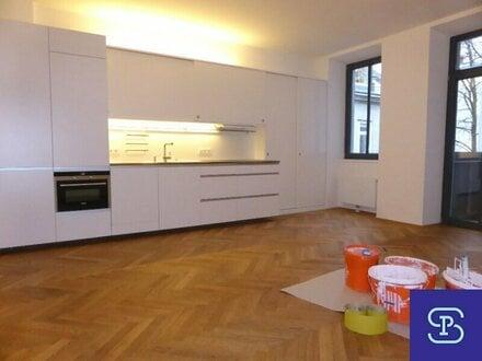Exklusiver 105m² Stilaltbau mit Einbauküche und Balkon - 1070 Wien
