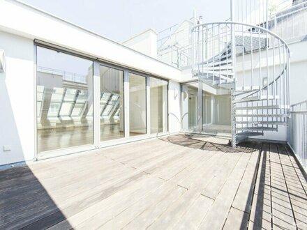 Tolle DG-Wohnung mit 4-Zimmer und traumhafter Terrasse in 1010 Wien unbefristet zu vermieten!