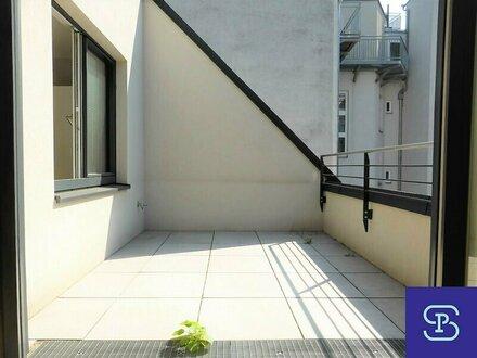 Gartenseitige 97m² DG-Wohnung + 8,3m² Terrasse mit Einbauküche - 1030 Wien