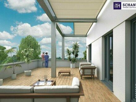 ITH: UMWERFEND! LUXUS-ERSTBEZUG-PENTHOUSE! Große Terrasse + Riesige Glasflächen + Fernblick + Lichtdurchflutet + Tiefgaragenplätze,…