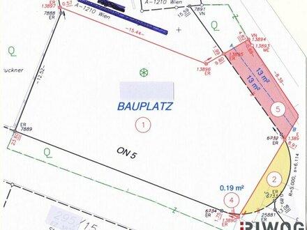 ::TOP ANGEBOT:: GRUNDSTÜCK IN BISAMBERGNÄHE CA 335 m²