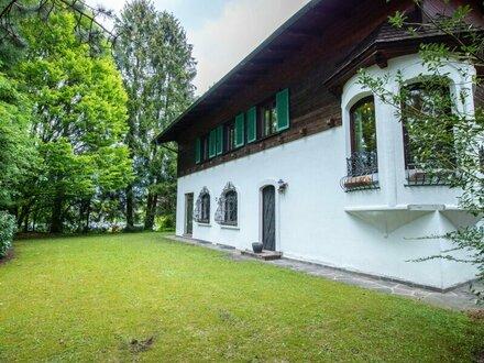 Großgmain: Prachtvolles Einfamilienhaus in herrlicher Grünlage