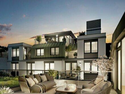 WINZENZ - Wunderschöne 4-Zimmer Wohnung mit 2 Balkonen in Nussdorf (Erstbezug)