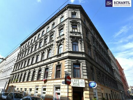 TOP Rohdachboden mit Baubewilligung im Paket mit - 50 m² Wohnung im 3.OG - 90 m² Souterrainfläche (Garage)!