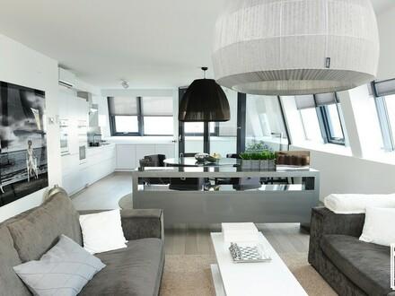 Exklusive Dachgeschosswohnung mit Wintergarten