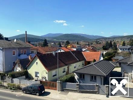 barrierefreie Neubau-Wohnung mit Balkon, Küche und Garage