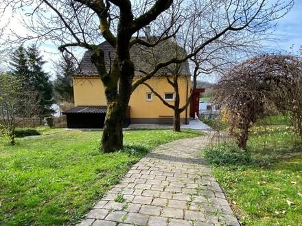 Einfamilienhaus in einzigartiger Lage in der Stadt Ybbs (rserviert bis 17.5.21)