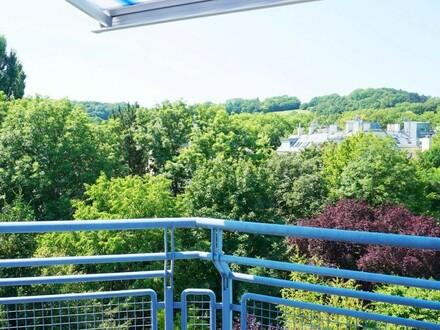 Dachterrassentraum mit Blick auf den Roten Berg