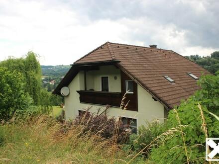 Einfamilienhaus in ruhiger Lage mit Fernblick