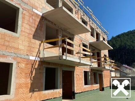 barrierefreie Erdgeschosswohnung inkl. Einbauküche, Garten und Garage - Erstbezug!
