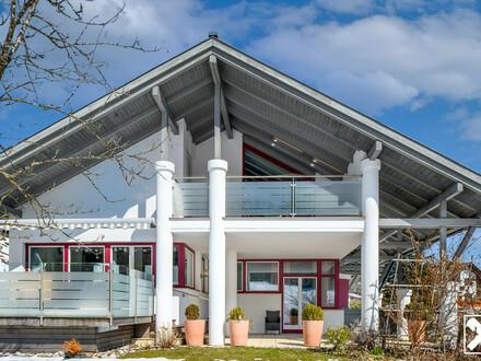 Architektonisches Juwel im Alpenvorland - einzigartige Residenz für ZWEI FAMILIEN in Lunz am See