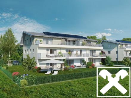 Neubau: 2-Zimmer-Mietwohnung in Wals