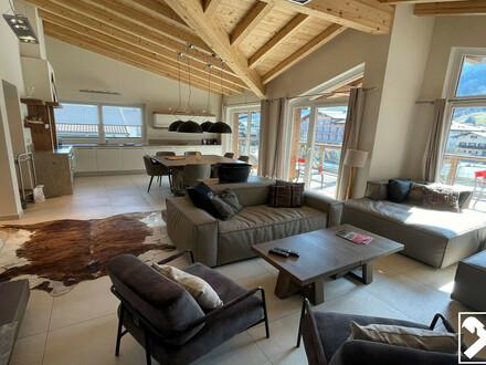Penthouse-Wohnung mit touristischer Vermietung