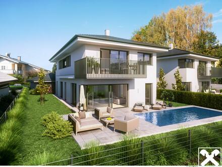 Moderne Villa mit traumhaften Blick in Salzburg Süd