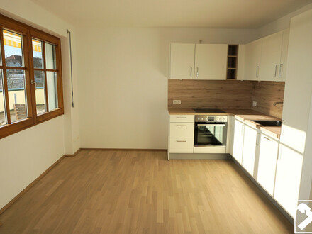 Neubau: Großzügige 2-Zimmer-Mietwohnung mit Dachterrasse in Hallwang