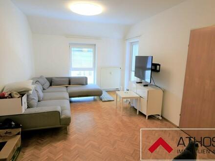 Toll aufgeteilte 3-Zimmer-Dachgeschoßwohnung mit Loggia im Zentrum von Enns