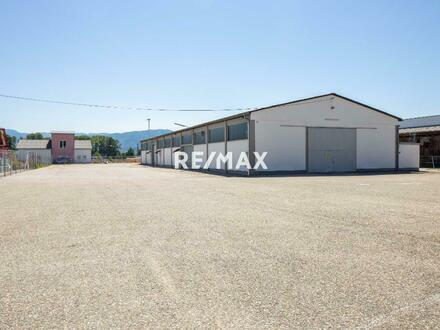 Mitten im Gewerbegebiet Auern - fast 1.000 m² Halle für Produktion oder Logistik