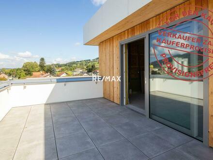 direkt an der B138 - perfekte Büros über den Dächern des Kirchdorfer Stadtzentrums