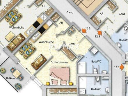 Sternparkzentrum Süd - Top 16: für Sparsame