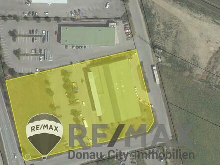 """""""Geschäftslokal mit einer Größe von ca. 339,82 m² samt dazugehörigen Parkplätzen in Hollabrunn"""""""