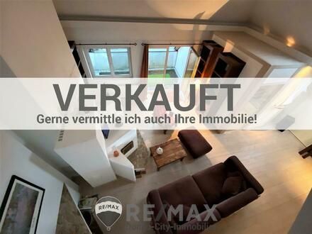 Maisonettewohnung mit Terrasse