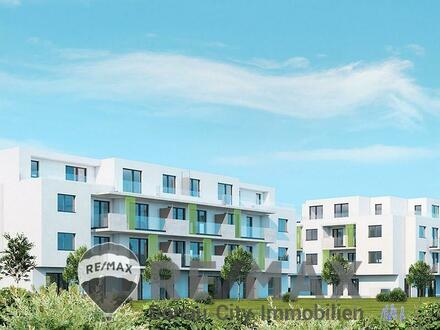 Wohl durchdachte, tolle 4 Zimmer Familienwohnung mit riesigen Freiflächen