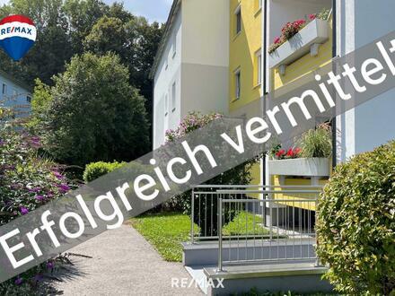 Sanierte 3 Zimmer-Wohnung mit Loggia und Tiefgaragenstellplatz