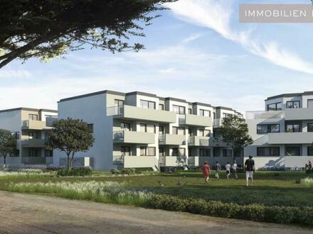 Moderne Gartenwohnung mit Balkon (Vorsorge oder Eigennutzung) PROVISIONSFREI - ERSTBEZUG