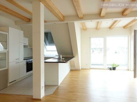 DG-Wohnung mit Traumaustattung und Dachterrasse - Grenze 1. Bezirk!!!