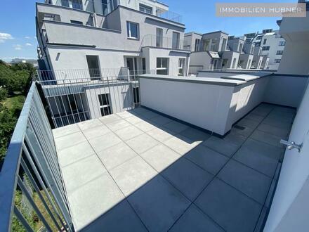 Statt Fernweh - Terrasse mit Fernblick - sogar vom Badezimmer ;)