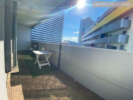 U1-Nähe!!! Vollmöblierte Neubauwohnung mit 12m² Balkon / Close to U1!!! FULLY FURNISHED APARTMENT in 21st district with…